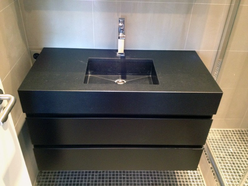 meuble vasque noir save cr ation paris ile de france
