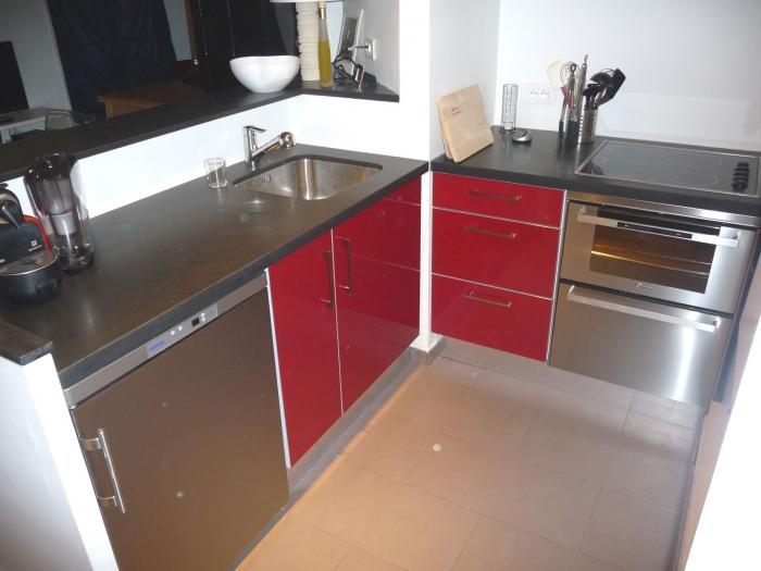 mini cuisine tahon rouge save cr ation paris ile de france. Black Bedroom Furniture Sets. Home Design Ideas