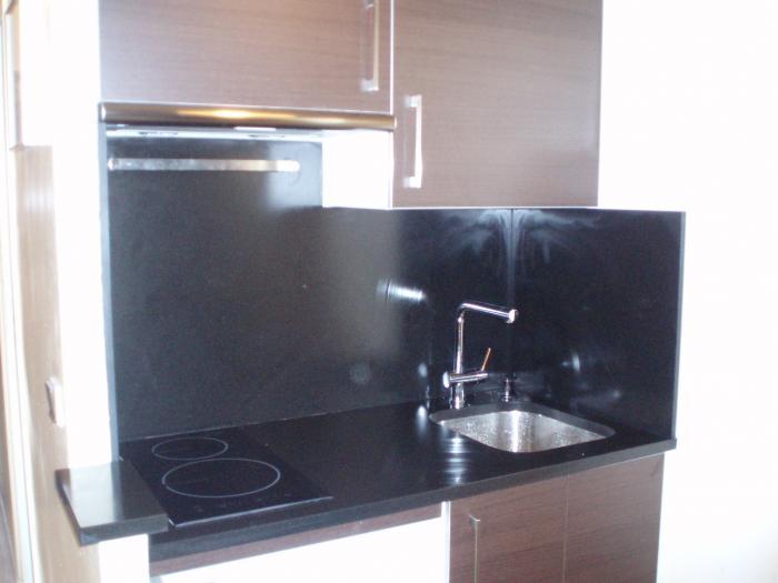 kitchenette tahon wengue save cr ation paris ile de france. Black Bedroom Furniture Sets. Home Design Ideas