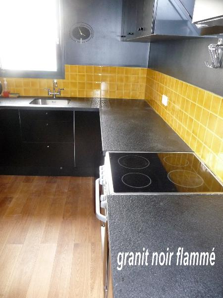 granit noir flamm cuisine paris ile de france. Black Bedroom Furniture Sets. Home Design Ideas