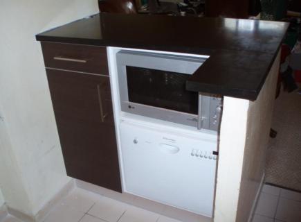 comptoir de kitchenette