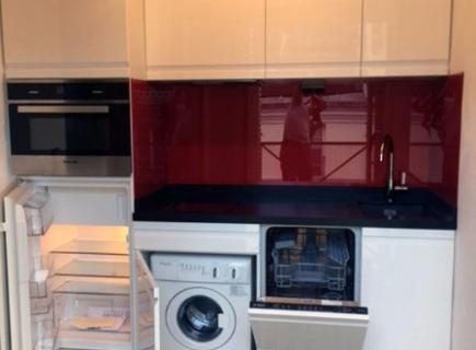 mini cuisine rumania blanc cuisiniste paris ile de france. Black Bedroom Furniture Sets. Home Design Ideas