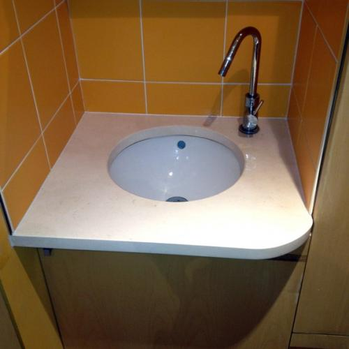 Plan vasque Quartzia