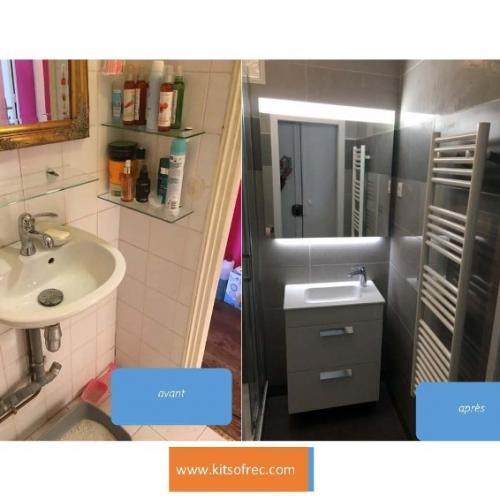 salle de bain à Paris