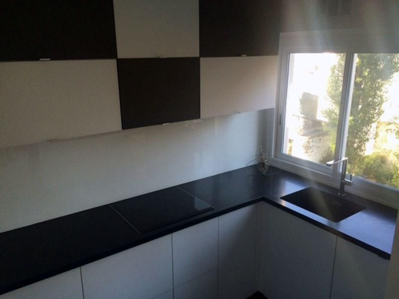 plan de travail en granit noir mat cuisine paris ile. Black Bedroom Furniture Sets. Home Design Ideas