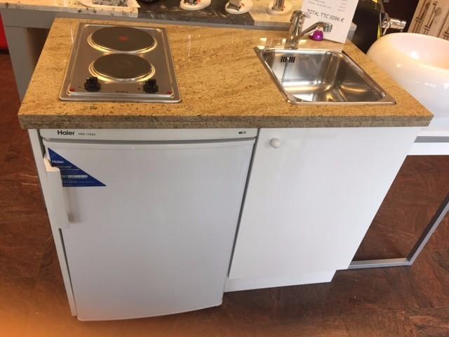 kitchenette 108x65 sur mesure kitchenette paris ile de france. Black Bedroom Furniture Sets. Home Design Ideas